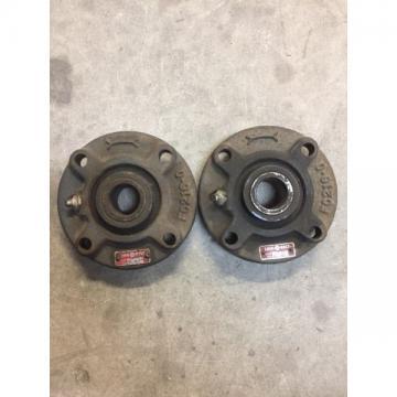 """Rexnord Link-Belt FC-215 Ball Bearing FLANGE BLOCK 4 Bolt Holes 15/16"""" Bore"""